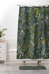 Jenean Morrison Scribble Night Shower Curtain And Mat