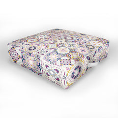 Jenean Morrison Starlight Cinema Tiles Outdoor Floor Cushion