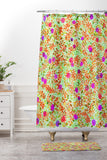 Joy Laforme Berry Tree I Shower Curtain And Mat