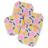 Joy Laforme Pear Confetti Coaster Set