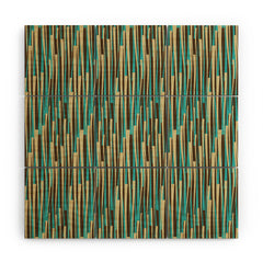 Juliana Curi Grass Modern Wood Wall Mural