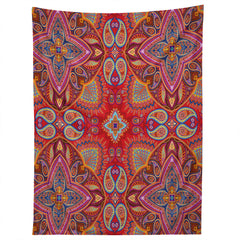 Juliana Curi Mandra Red Tapestry