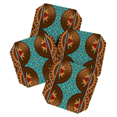 Juliana Curi maori3 Coaster Set