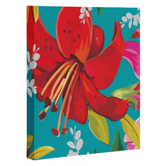 Juliana Curi Mix Flower 1 Art Canvas