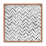 Kelly Haines Concrete Herringbone Square Tray