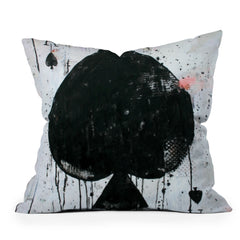 Kent Youngstrom Ace Is The Place Throw Pillow