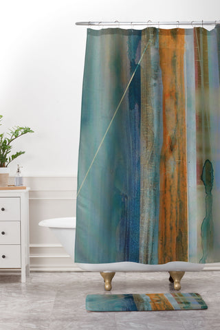 Kent Youngstrom Dark Water Shower Curtain And Mat