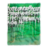 Kent Youngstrom green no one on earth Throw Blanket