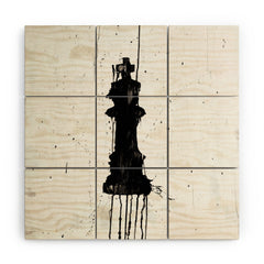 Kent Youngstrom King Wood Wall Mural
