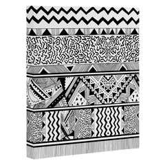 Kris Tate Tribal 3 Art Canvas