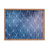 Lara Kulpa Abstract Sounds Rectangular Tray
