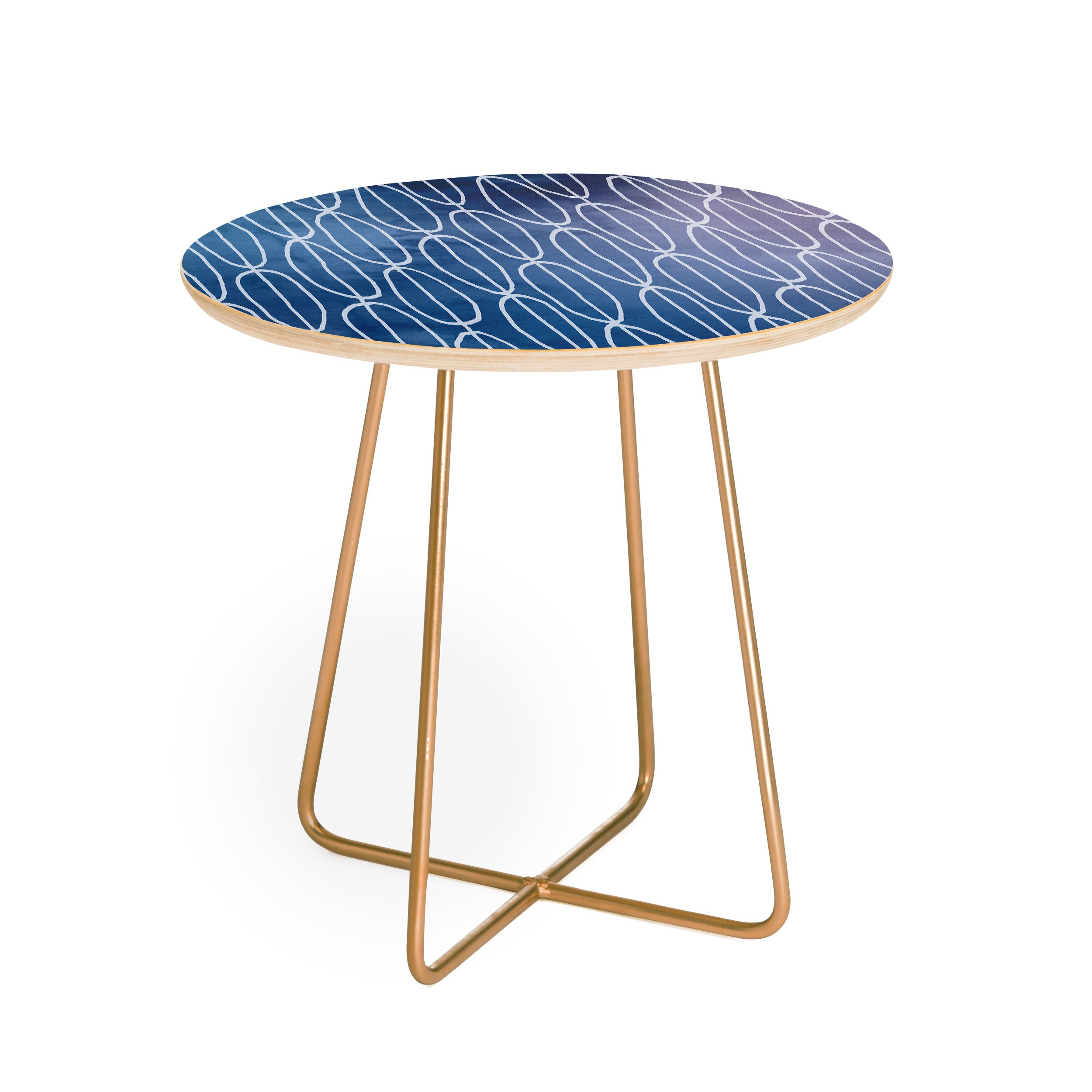 Lara Kulpa Abstract Sounds Round Side Table