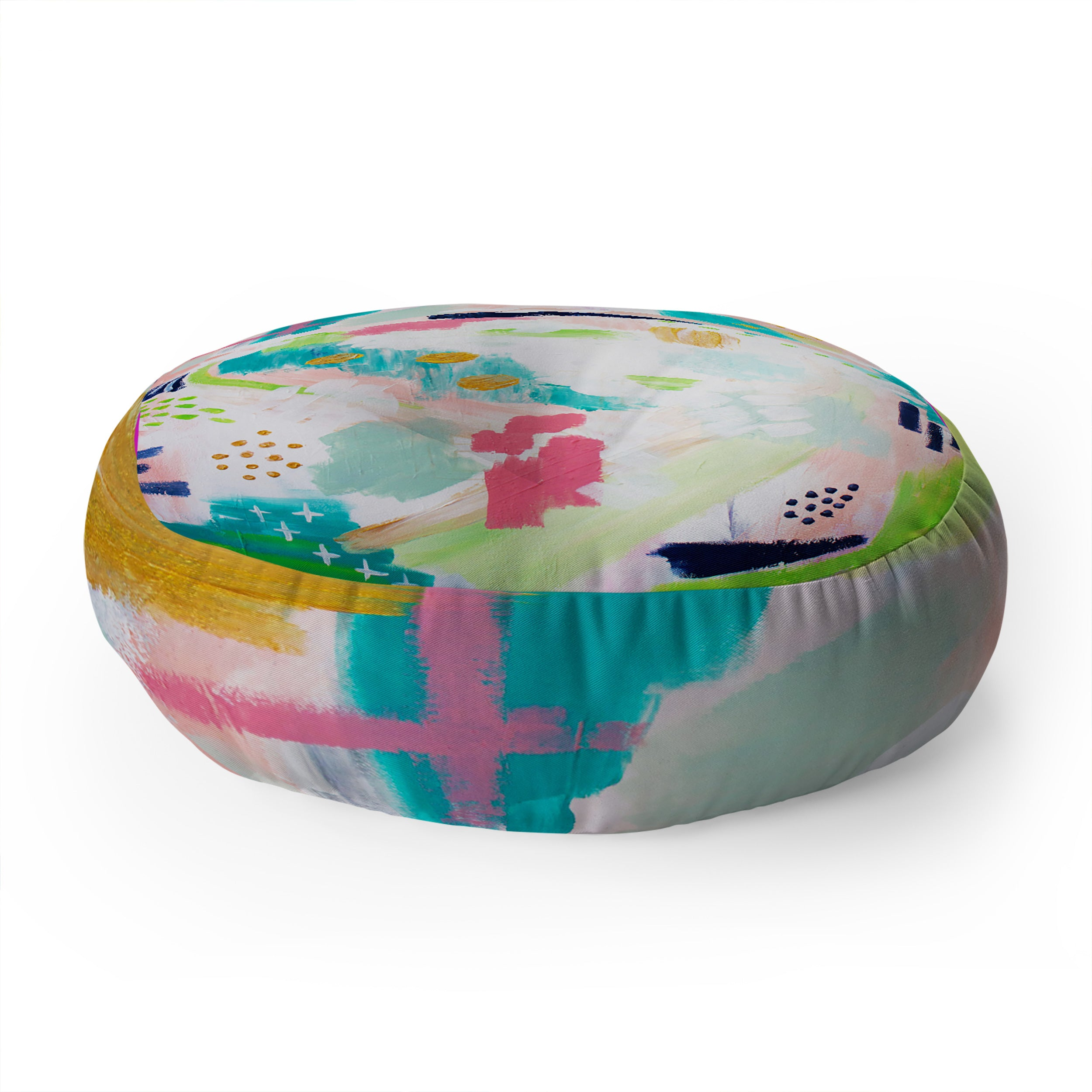 Laura Fedorowicz Dreamscape Floor Pillow Round