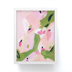 Laura Fedorowicz Spring Fling Abstract Framed Mini Art Print