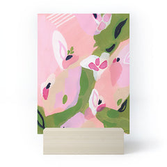 Laura Fedorowicz Spring Fling Abstract Mini Art Print
