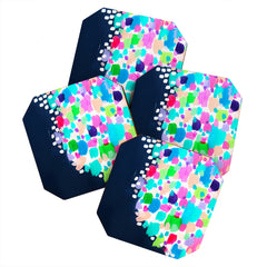Laura Fedorowicz Summer Sprinkle Coaster Set