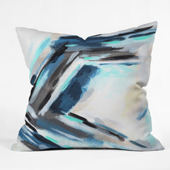 Laura Fedorowicz Wont Let Go Outdoor Throw Pillow
