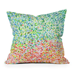 Laura Trevey Cool To Warm Throw Pillow