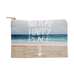 Leah Flores Happy Place X Beach Pouch