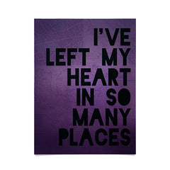 Leah Flores My Heart Poster