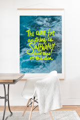 Leah Flores Saltwater Cure Art Print And Hanger