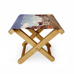 Leah Flores Wild Wild West Folding Stool