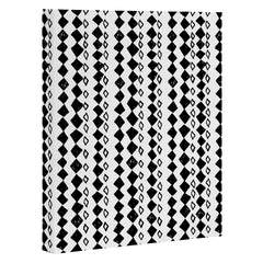 Leeana Benson Diamond Pattern Art Canvas