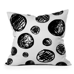 Leeana Benson Dot Pattern In Repeat Throw Pillow