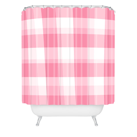 Gingham Lisa Argyropoulos Shower Curtains | Deny Designs