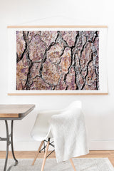 Lisa Argyropoulos Rugged Bark Art Print And Hanger
