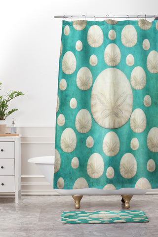 JEmail Us About This Product. DENY Lisa Argyropoulos. Lisa Argyropoulos Sand  Dollars Shower Curtain And Mat