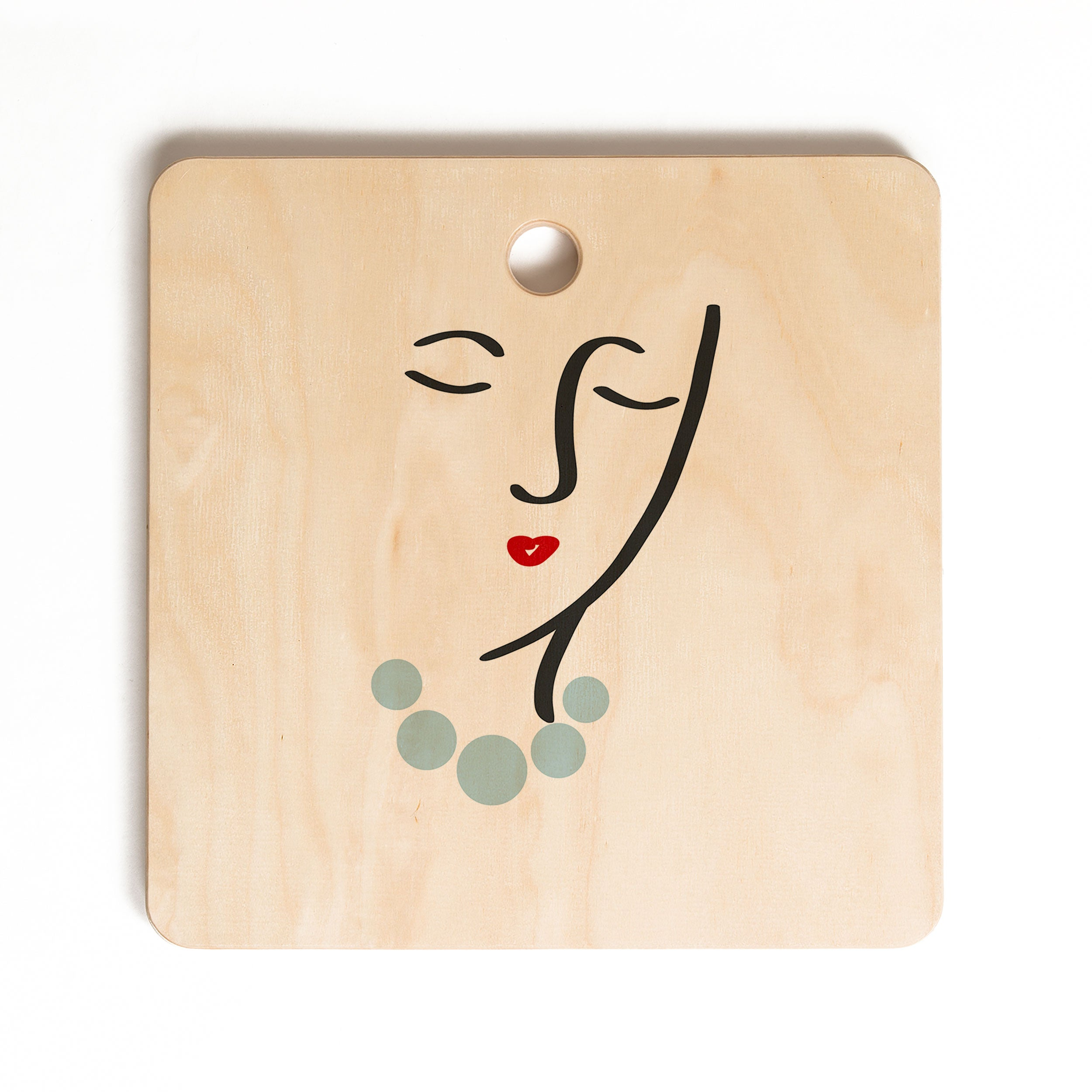 Lisa Argyropoulos Simply She Cutting Board Square