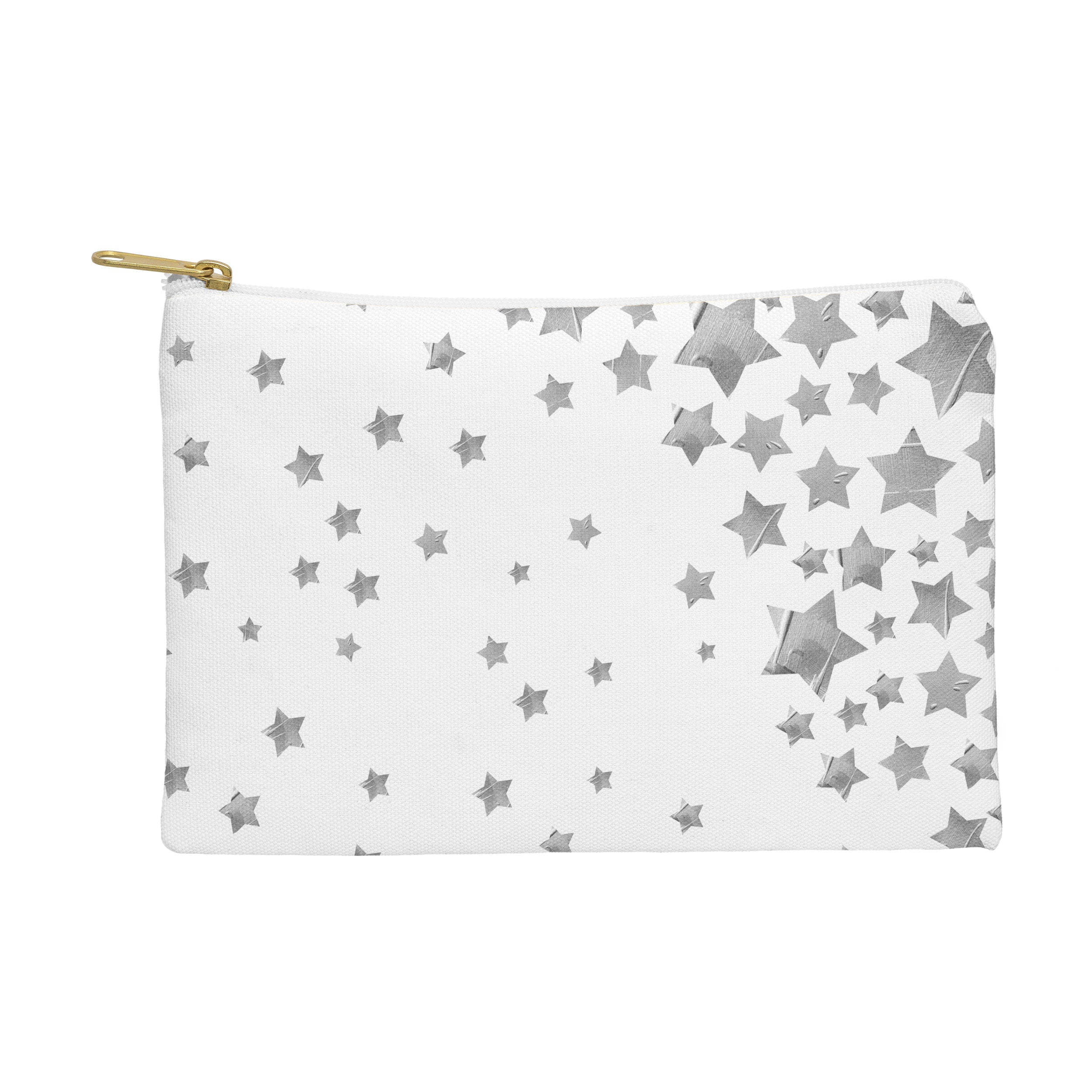 Lisa Argyropoulos Starry Magic Silvery White Pouch