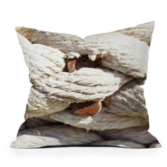 Lisa Argyropoulos Twisted Throw Pillow