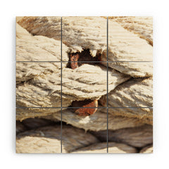 Lisa Argyropoulos Twisted Wood Wall Mural