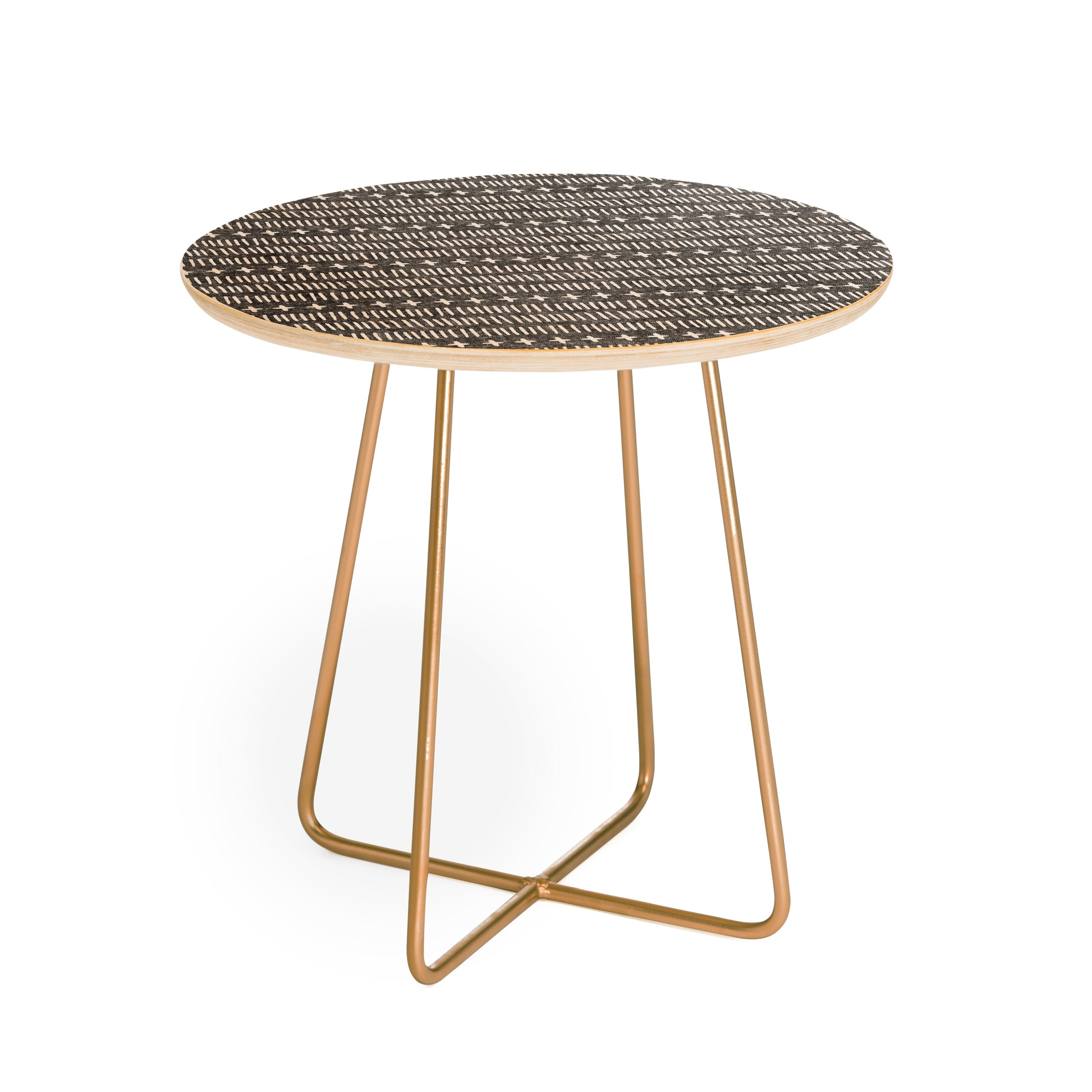 Little Arrow Design Co Marrakesh dash Round Side Table