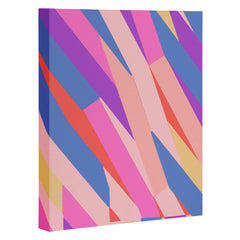 Little Dean Color stripe Art Canvas