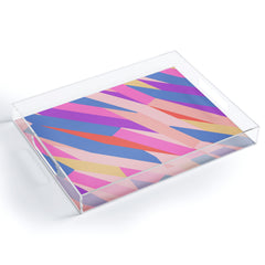 Little Dean Color stripe Acrylic Tray