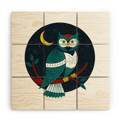 Lucie Rice Big Hooter Wood Wall Mural