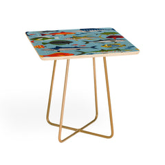 Lucie Rice Fish Frenzy Side Table
