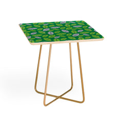 Lucie Rice Leafy Greens Side Table