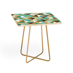 Lucie Rice Sand and Sea Geometry Side Table