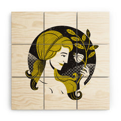 Lucie Rice ViVi Virgo Wood Wall Mural