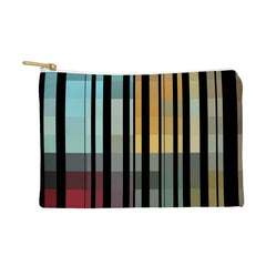Madart Inc. Black Stripes In The Maze 2 Pouch