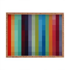Madart Inc. City Colors Rectangular Tray