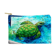 Madart Inc. Sea of Whimsy Sea Turtle Pouch