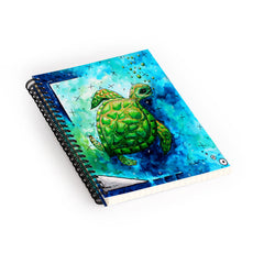 Madart Inc. Sea of Whimsy Sea Turtle Spiral Notebook