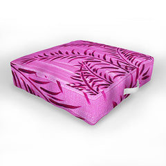 Madart Inc. Tropical Splash Pink Outdoor Floor Cushion
