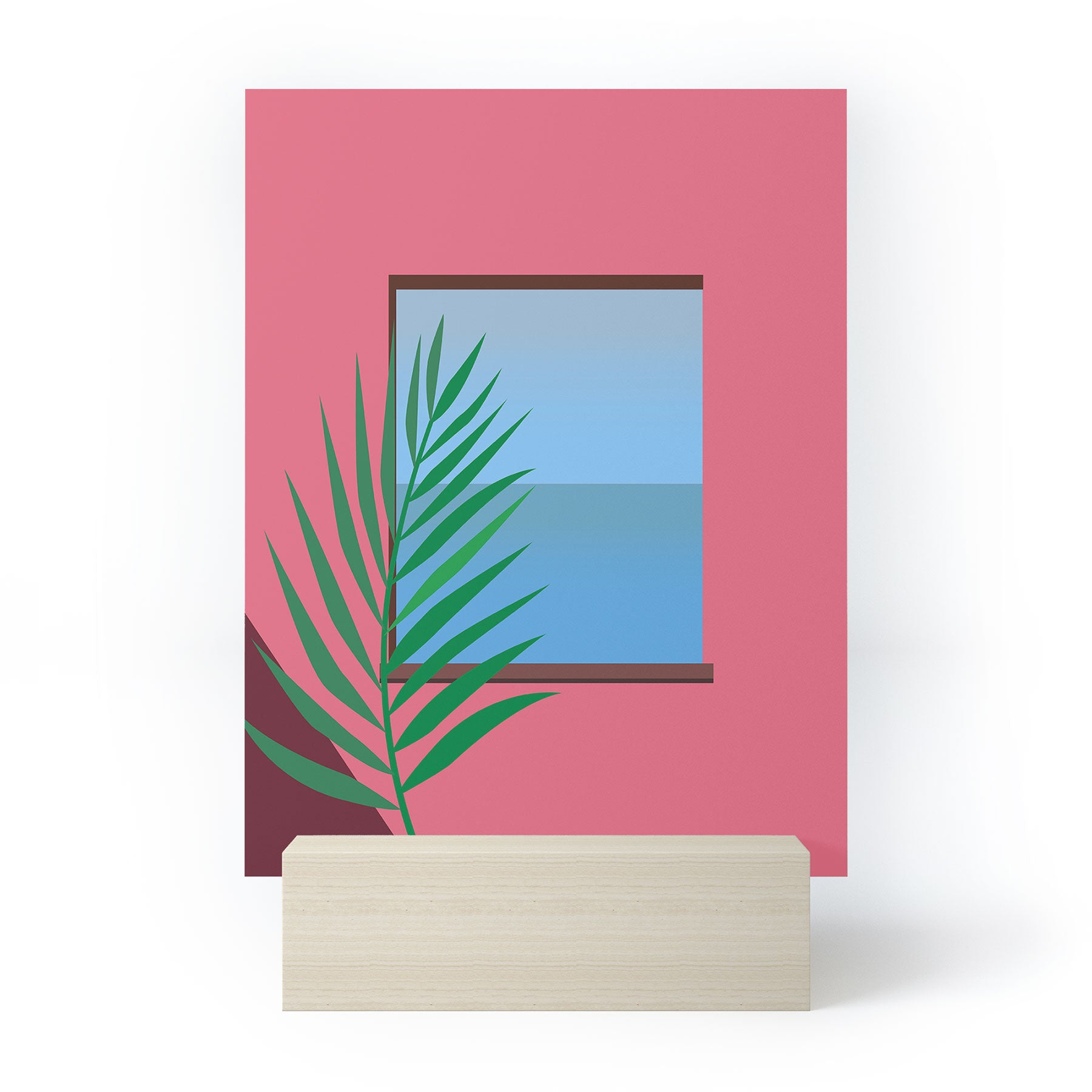Mambo Art Studio Pink View Mini Art Print