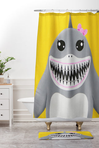 At:shark tooth sally Art Products   Deny Designs